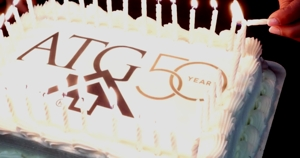 ATG 50th Anniversary Cake photo