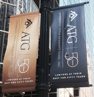 50th Anniversary Chicago Loop Banners photo