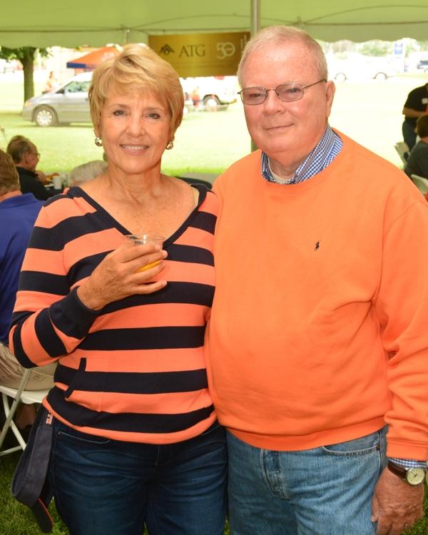 Diana and Ward McDonald at ATG 50th Tailgate