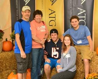 Augie Butera and family at ATG 50th Tailgate