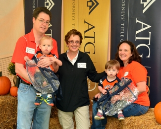 Mona Stevens and family at ATG 50th Tailgate