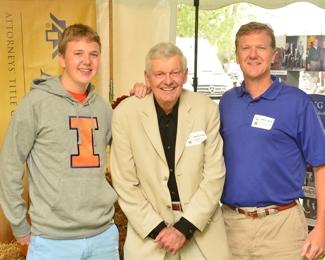 Three John Satters at ATG 50th Tailgate