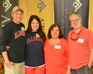 Ralph Schuman and family at ATG 50th Tailgate