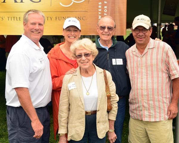 Harts, Susan, Peter at ATG 50th Tailgate