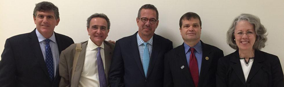Birnbaum, Shulruff, with ALTA reps and Congressman
