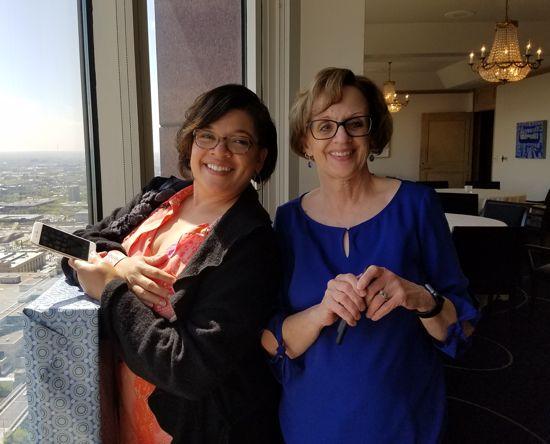 ATG Double Decade Yolanda McMullen and Mona Stevens
