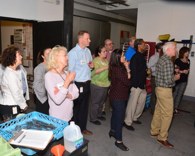 Brewery tour at 2018 Double Decade Luncheon