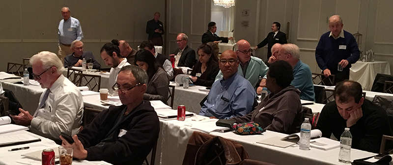 Attendees at 2018 Harold Levine Institute.
