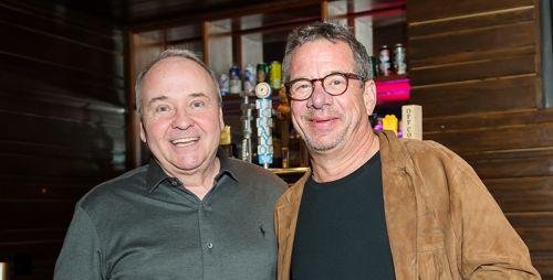 Lawyers Rock Event Pat Morris with Peter Birnbaum