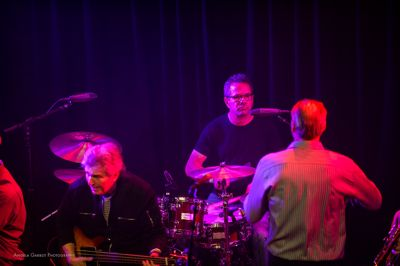 Lawyers Rock Event Peter Birnbaum on drums