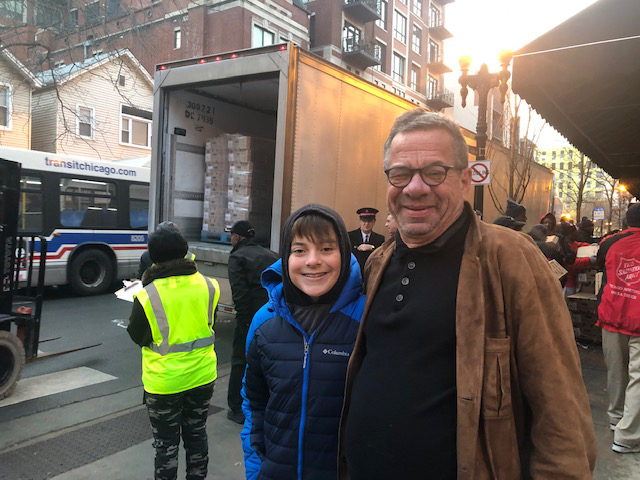 2019 Jesse White Foundation Holiday Meals Delivery photo