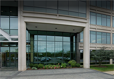 Lake Forest office building entrance photo