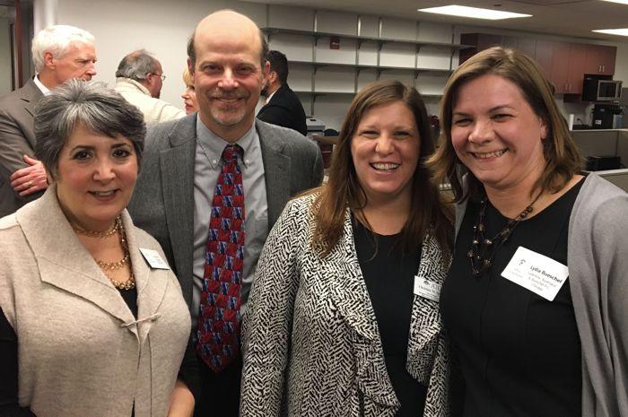 Arden Miner, Augie Butera, Christine Sparks, and Lydia Bueschel