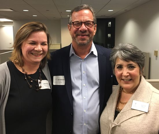 Lydia Bueschel, Peter Birnbaum, and Arden Miner