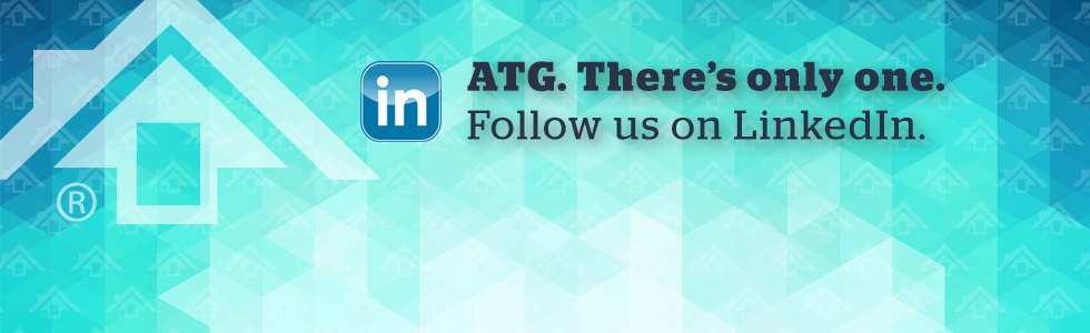 Banner: ATG. There's only one. Follow us on LinkedIn.