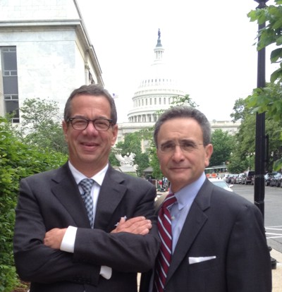 Peter J. Birnbaum, ATG President and CEO, and Frank Pellegrini, 2012 Incoming President of ALTA and ATG member.