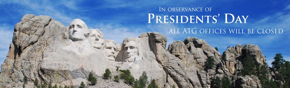 Presidents' Day Banner