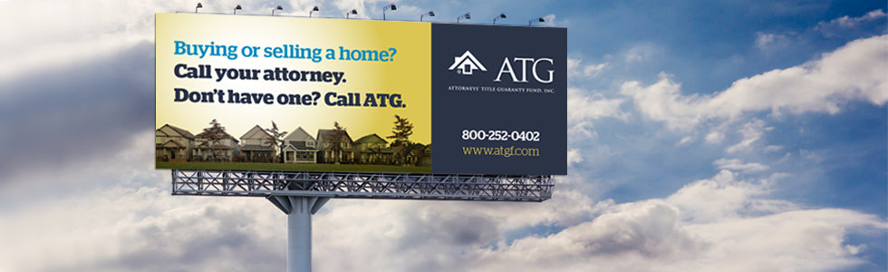 ATG Call Your Attorney Billboard image