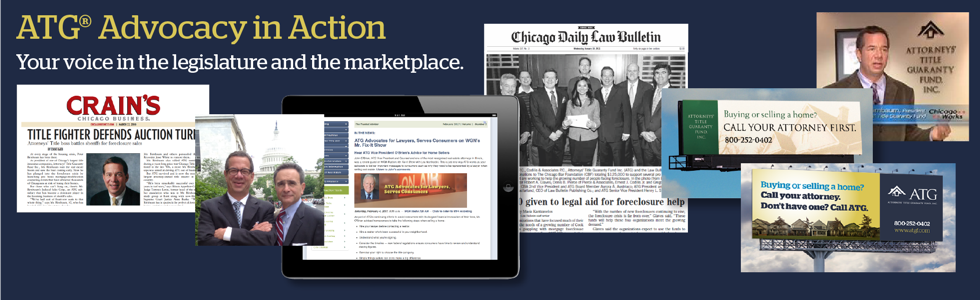 ATG Advocacy in Action: Your voice in the legislature and the marketplace banner