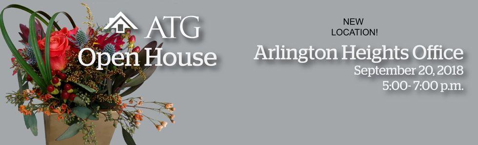 Arlington Heights Open House banner.