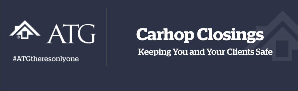 ATG Carhop banner