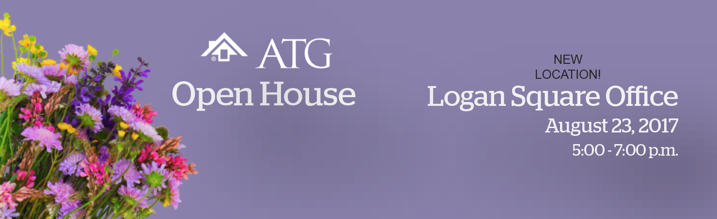 New ATG Logan Square Office Open House - August 23, 5-7 pm