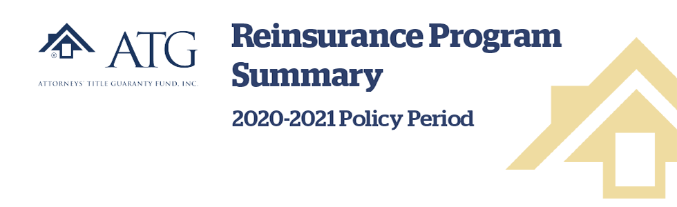 Reinsurance program banner