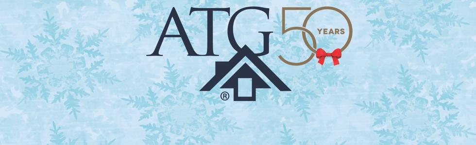 ATG holiday logo