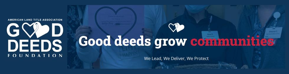 ALTA Good Deeds banner