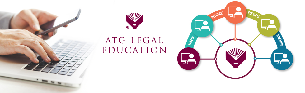 ATG Legal Education banner